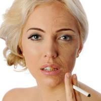 A dohányzás hatása a bőrre