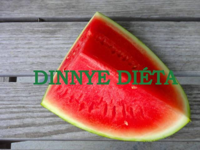 Dinnye diéta, méregtelenítés