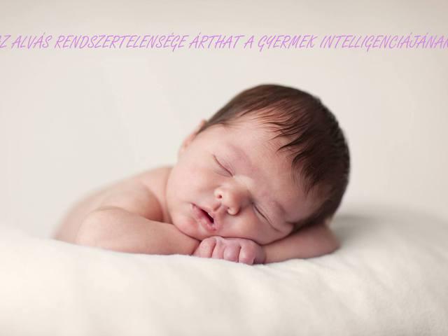 A alvás rendszertelensége árthat a gyermek intelligenciáján