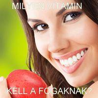 Fogaink egészsége és a vitaminok