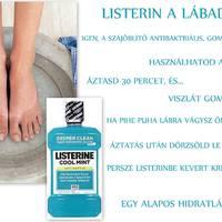 Gomba ellen Listerin