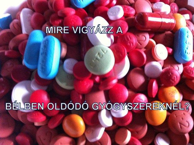 Mire kell ügyelni a bélben oldódó bevonattal rendelkező gyógyszerek szedésekor?