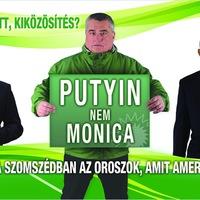 Európa parlamenti választási plakát 2014 - csak Budapesten