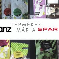 Veganz termékek már a Spar-ban is!