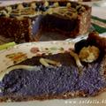Nyers vegán áfonya torta