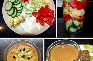Gyors ebéd 10 perc alatt - nyers vegán