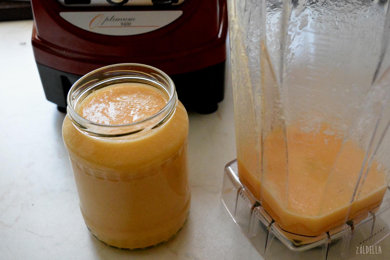 Mangó, banán, papaya turmix