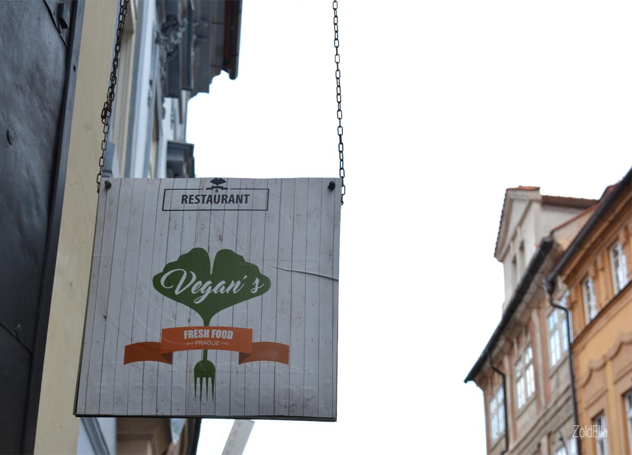 Vegan's Prague cégér