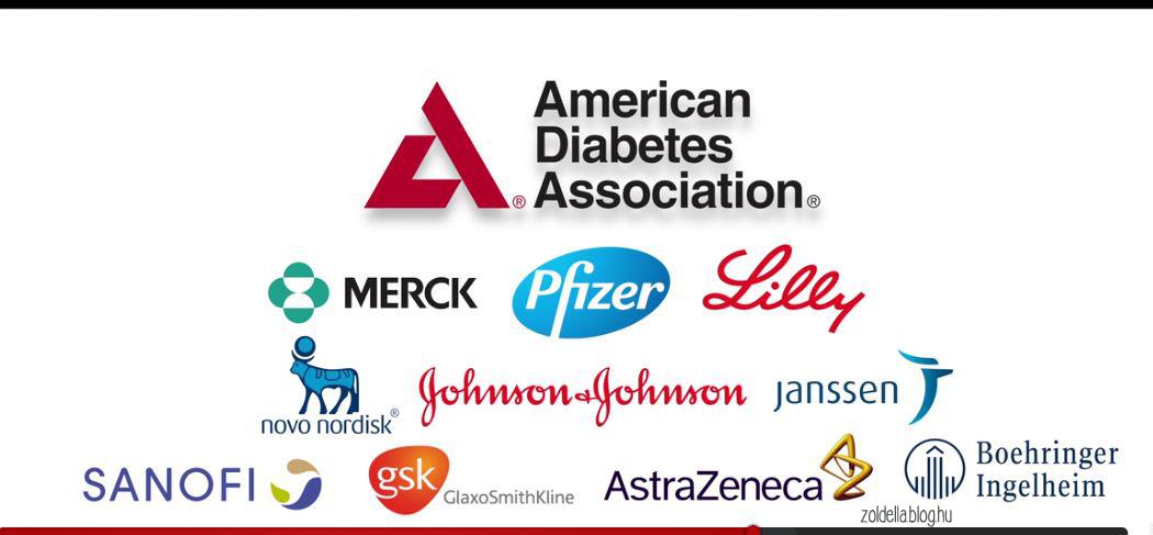 Az Amerikai Diabétesz Szövetség gyógyszeripari szponzorai