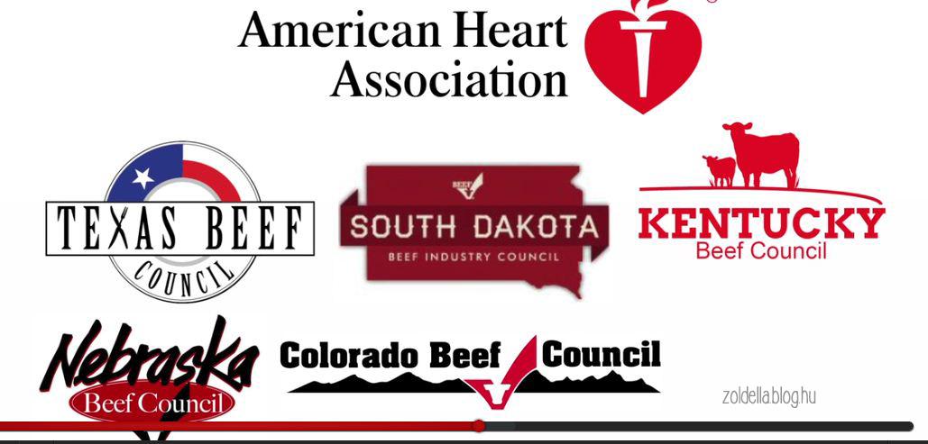 Az Amerikai Szív Társaság húsipari szponzorai