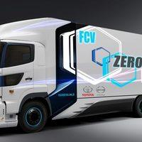 A Toyota és Hino új hidrogén üzemanyagcellás teherautója