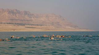 Eddig még senki nem úszta át a Holt-tengert