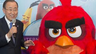 Klímaváltozás nagykövet lett az Angry Birds