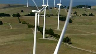 Így épül egy szélerőmű Ausztráliában