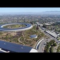 Csodálatos felvételeken az Apple központ