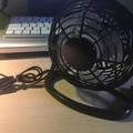 Asztali USB-s ventilátor teszt
