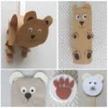 Bújj, bújj medve - mackós bábok és díszek