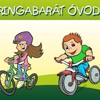 """Februári jógyakorlat - Radnóti Miklós u. óvoda """"Közlekedj okosan, zöld ovisan!"""""""