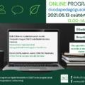 Fenntarthatóság és Zöld Óvoda - online ELŐADÁS, BESZÉLGETÉS és ÖKO AJÁNDÉK sorsolás