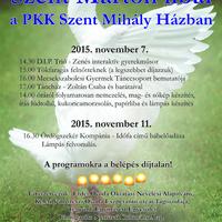 Szent Márton libái  a PKK Szent Mihály Házban, Csipiszke túra