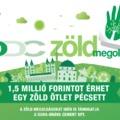 DDC Zöld Megoldás-pályázat 2019/2020