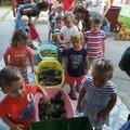 Szüreti mulatság a pécsi Kertvárosi Óvoda Bimbó Utcai Tagóvodájában
