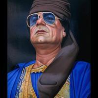 Mártírhalált halt Muammar al-Kaddáfi