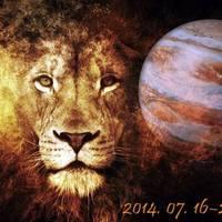 Jupiter Oroszlánba lép