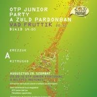 OTP Junior Party a Zöld Pardonban