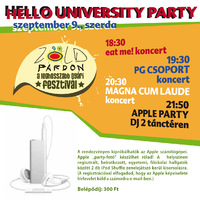 Apple university party