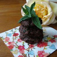 Ropogós mentás keksz