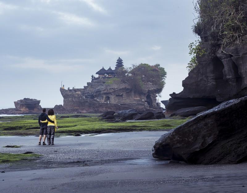Tanah Lot temple - Bali Indonézia