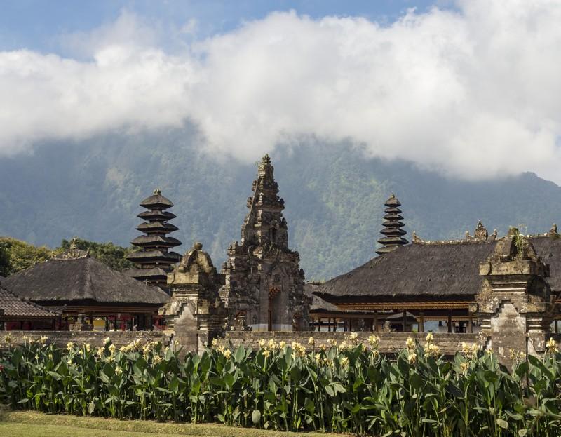 Ulun Darun Beratan Temple - Bali Indonézia