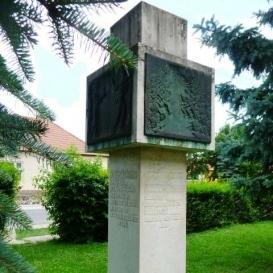 Háborús emlék<br />Szintén Király Róbert alkotása, 1987<br />