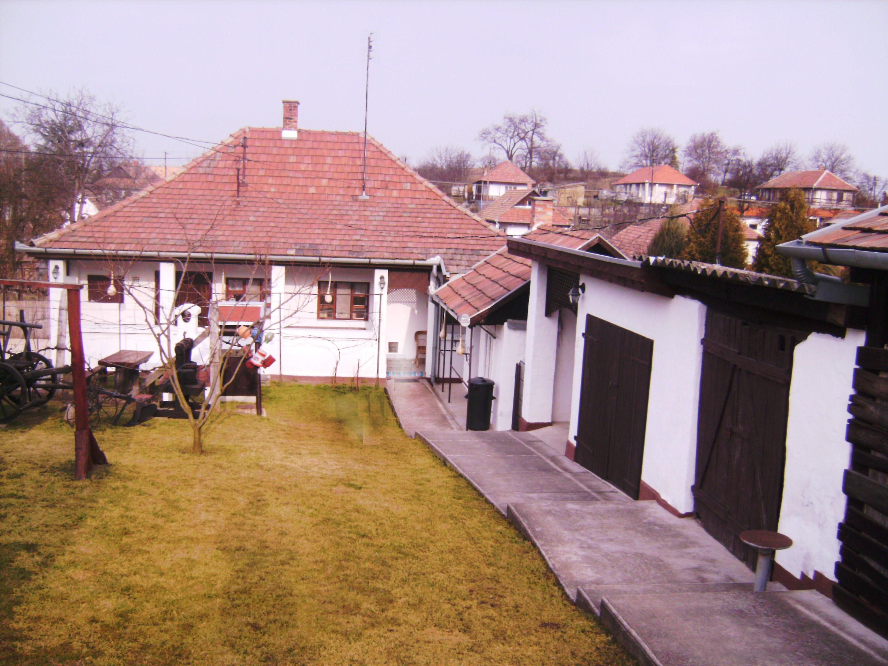 A vendégházat egy régi lakóházból alakították ki,