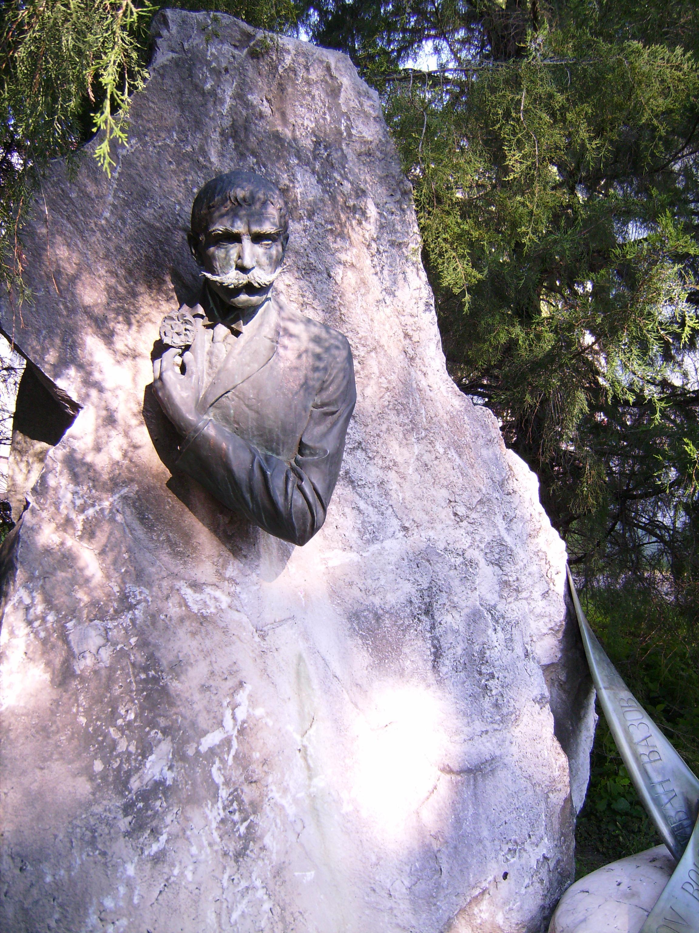 Ivan M. Vazov (1850-1921) bolgár ír, műfordító<br />Veres Gábor 1985<br />Petőfi Sándor Az őrült című versét Vazov olyan jól fordította, hogy éveken át kötelező vers volt a bulgáriai színművészeti egyetemen a felvételizőknek.<br />