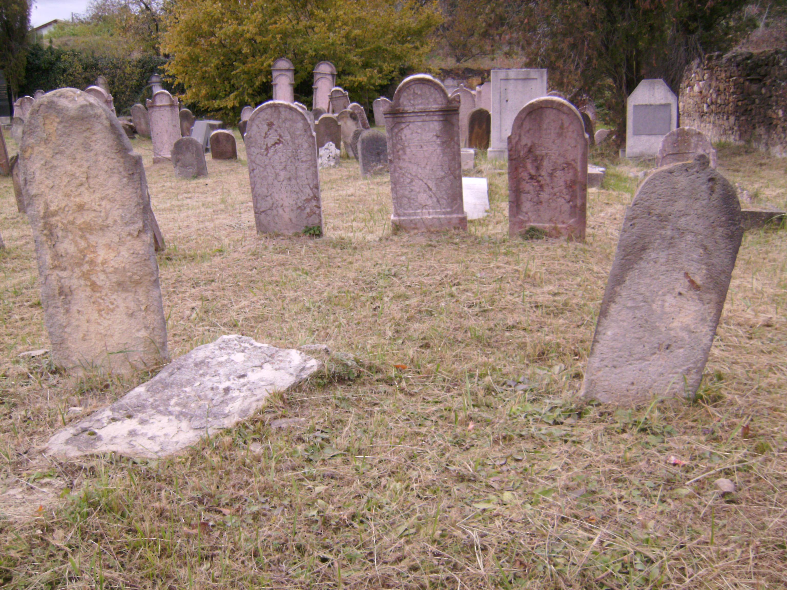 A kiemelkedő tisztséget betöltött zsidók pedig egy kiemelt helyen, a hitközség rabbijainak sírjai közelében nyugszanak.