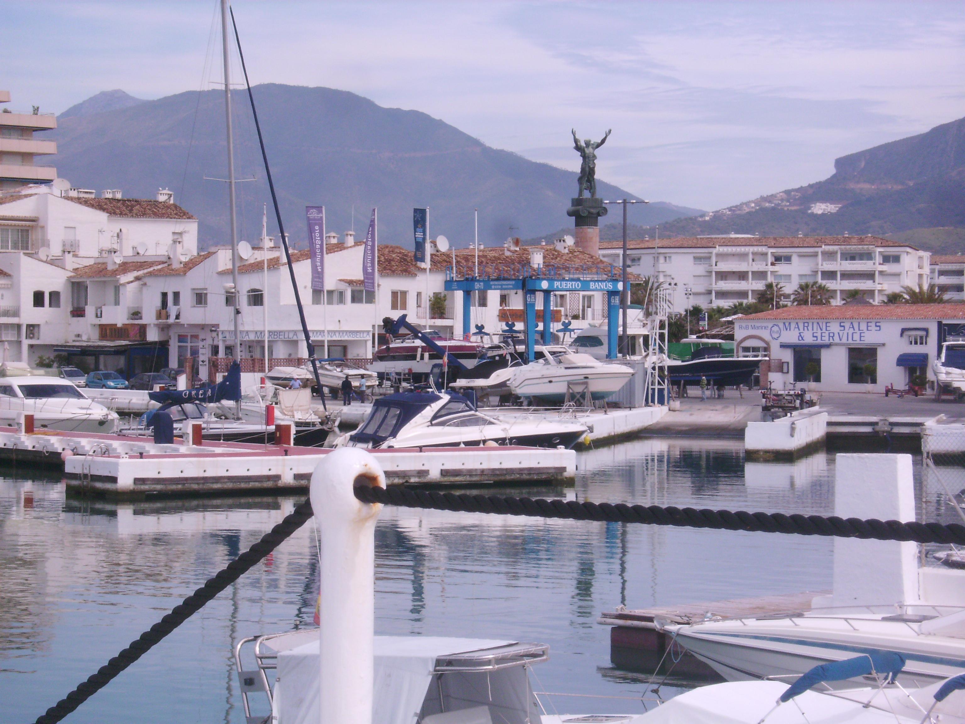 """A José Banus által építtetett """"Puerto Banus""""-t 1970-ben adták át"""
