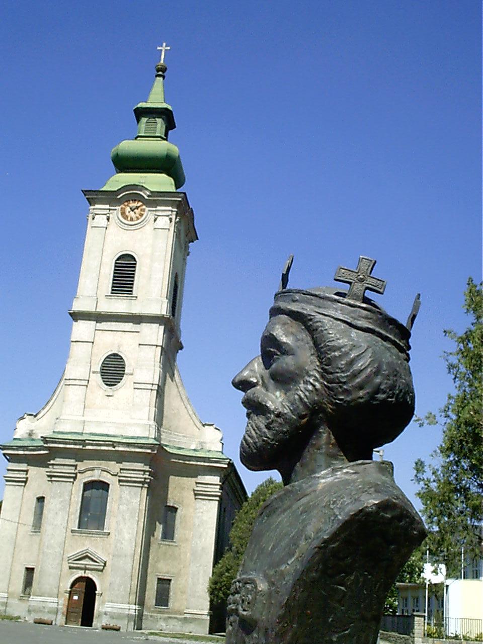 Szent László-mellszobor<br />