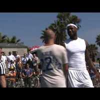 Strandon szívatták meg a kosárlabda Királyát