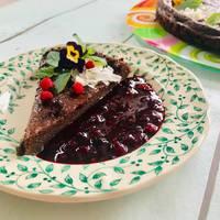 Cukor - és lisztmentes csokitorta