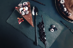 Fekete szezámmag torta (szénhidrát-csökkentett)