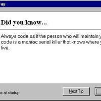 A legjobb programozási tanács...