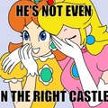 Sorry, Mario, but the princess is in another castle...
