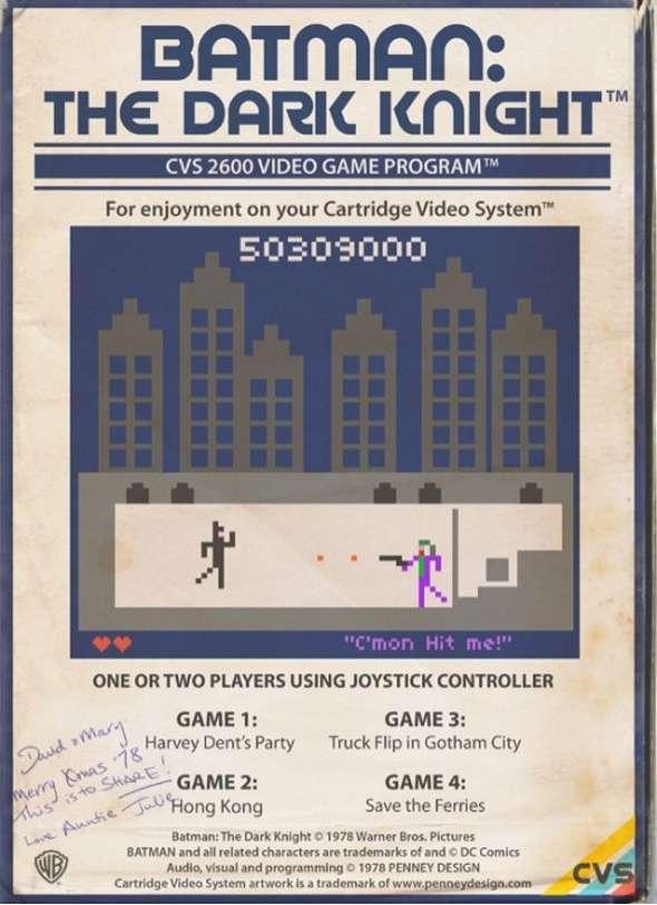 Atari 2600 Batman The Dark Knight
