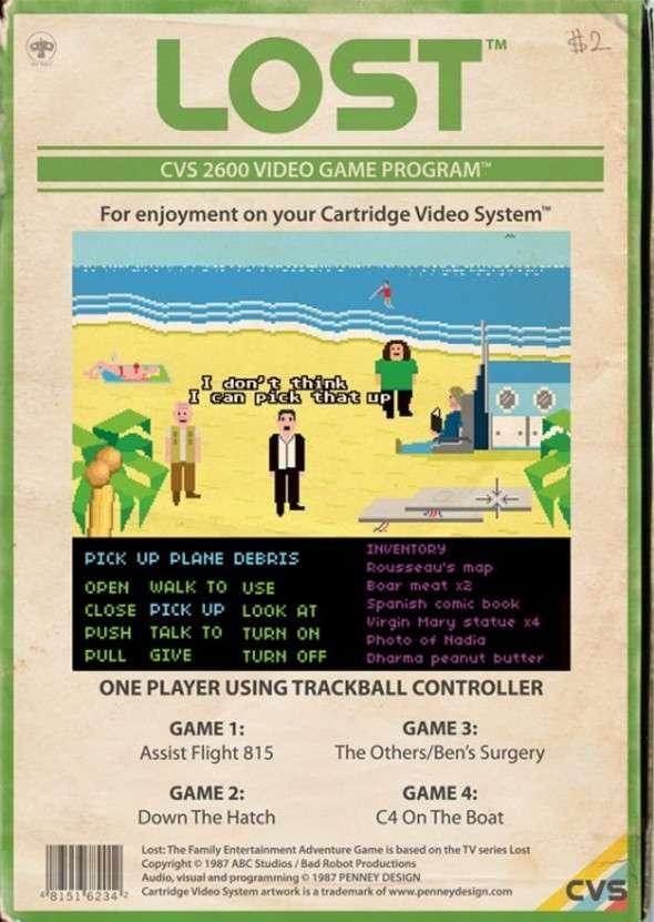 Atari 2600 Lost