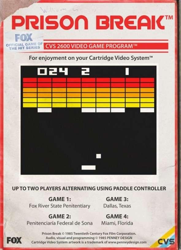 Atari 2600 Prison Break