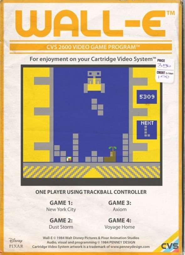 Atari 2600 Wall-E