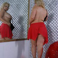 Extra Sorozat X. Szexik, szőkék és husik : Linsey Ward : Busty Britain Super Star   - erotikus képek