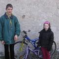 2014.03.09. Kosd két ministráns biciglivel